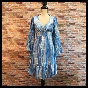 Betsey Johnson Bambi Lace Patch Kimono Dress